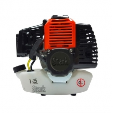 Двигатель 1E40F-5 бензокосы + сцепление