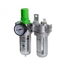 """Фильтр воздушный ECO с регулятором давления и маслораспылителем (1/2"""")"""