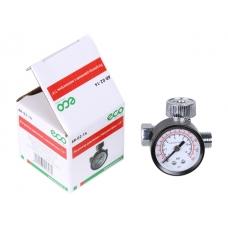 """Регулятор давления с манометром ECO AR-02-14 (резьбовое соединение 1/4"""")"""