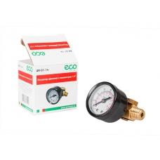 """Регулятор давления с манометром ECO AR-14 на 1/4"""" (резьбовое соединение 1/4"""")"""