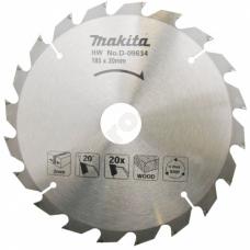 Пильный диск 185x30/20/16 мм Z20 MAKITA (D-09634)