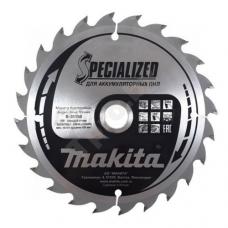 Пильный диск 165x20 мм Z24 (для аккумуляторных пил) MAKITA (B-31158)