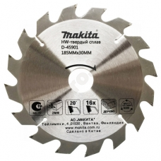 Пильный диск 185x30 мм Z16 MAKITA (D-45901)