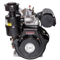 Двигатель дизельный Lifan C192F(вал 25мм) 15лс