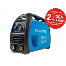 Инвертор сварочный SOLARIS MMA-251 (230В; 20-250 А; 70В; электроды диам. 1.6-5.0 мм; вес 5.3 кг)