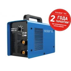 Инвертор сварочный SOLARIS MMA-205 (230В; 10-200 А; 85В; электроды диам. 1.6-4.0 мм; вес 5.1 кг)