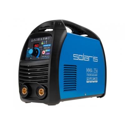 Инвертор сварочный SOLARIS MMA-256 (230В; 20-250 А; 82В; электроды диам. 1.6-5.0 мм; вес 5.3 кг)