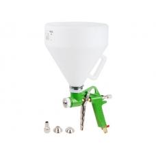Краскораспылитель ECO SGH-710 (HP, сопло ф 4, 6, 8 мм, верх. бак 5000 мл) (для нанесения штукатурки и шпатлевки)