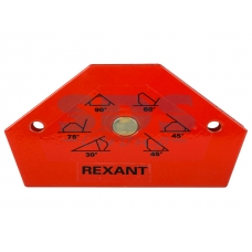 Держатель угольник магнитный для сварки на 6 углов усилие 11,3 Кг Rexant