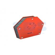 Держатель угольник магнитный для сварки на 6 углов усилие 34 Кг Rexant
