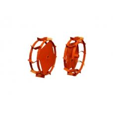 Грунтозацепы (комплект) KF для V-400, V-500 (диам.340мм, шир 90мм, 2 обруча) (красный) (ВРМЗ)