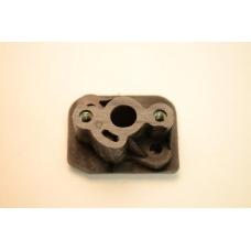 Переходник карбюратора(теплоизолятор) бензокосы 430/40F