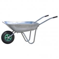 Тачка садовая BRADO 1x85 GARDEN (до 85л, до 150 кг, 1x3.5-6, пневмо)