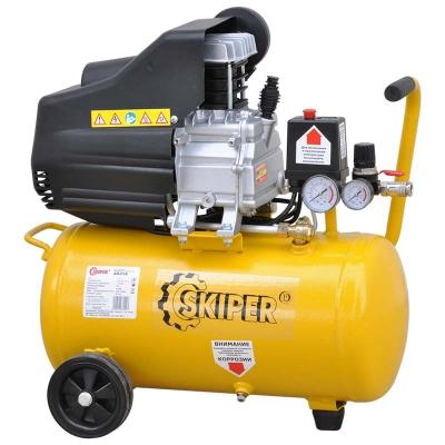 Воздушный компрессор SKIPER AR25A (до 235 л/мин, 8 атм, 25 л, 220 В, 1.50 кВт)