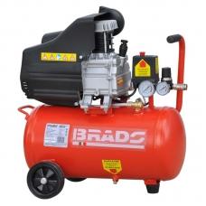 Воздушный компрессор BRADO AR25A (до 235 л/мин, 8 атм, 25 л, 220 В, 1.50 кВт)
