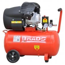 Воздушный компрессор BRADO AR50V (до 400 л/мин, 8 атм, 50 л, 220 В, 2.2 кВт)